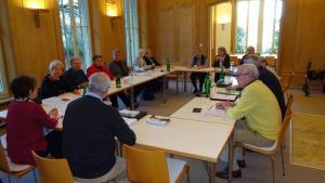 Plattform-Vorstand tagte in Schaan