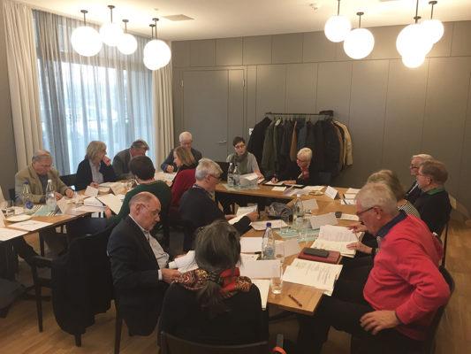 Neuer Vorstand und Arbeitsausschuss tagte in Arbon